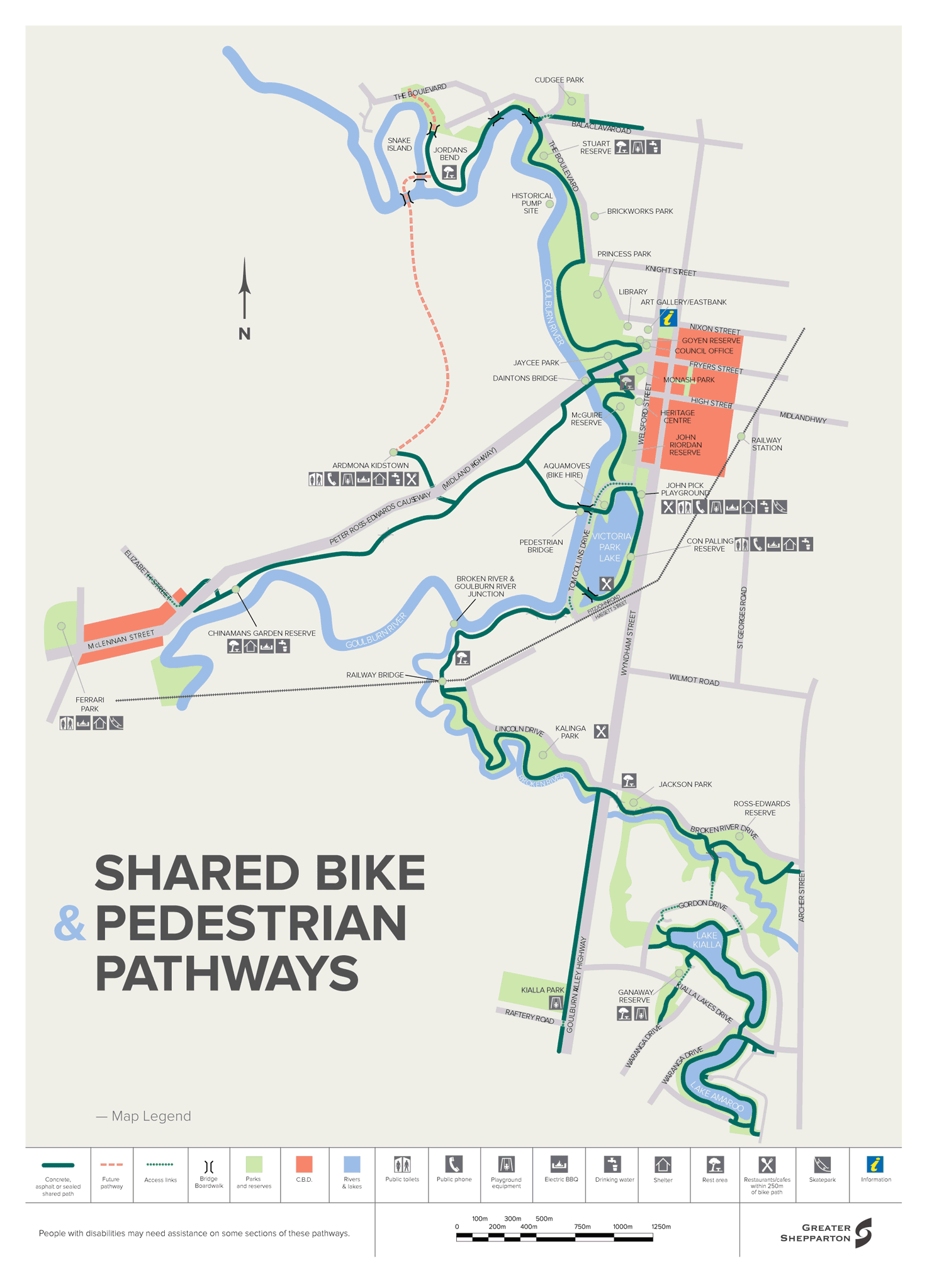 Cycling and Shared Pathways Greater Shepparton City Council