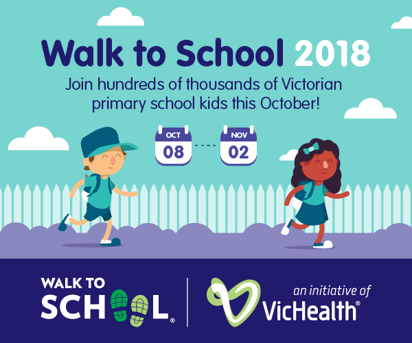 Image result for walk to school month