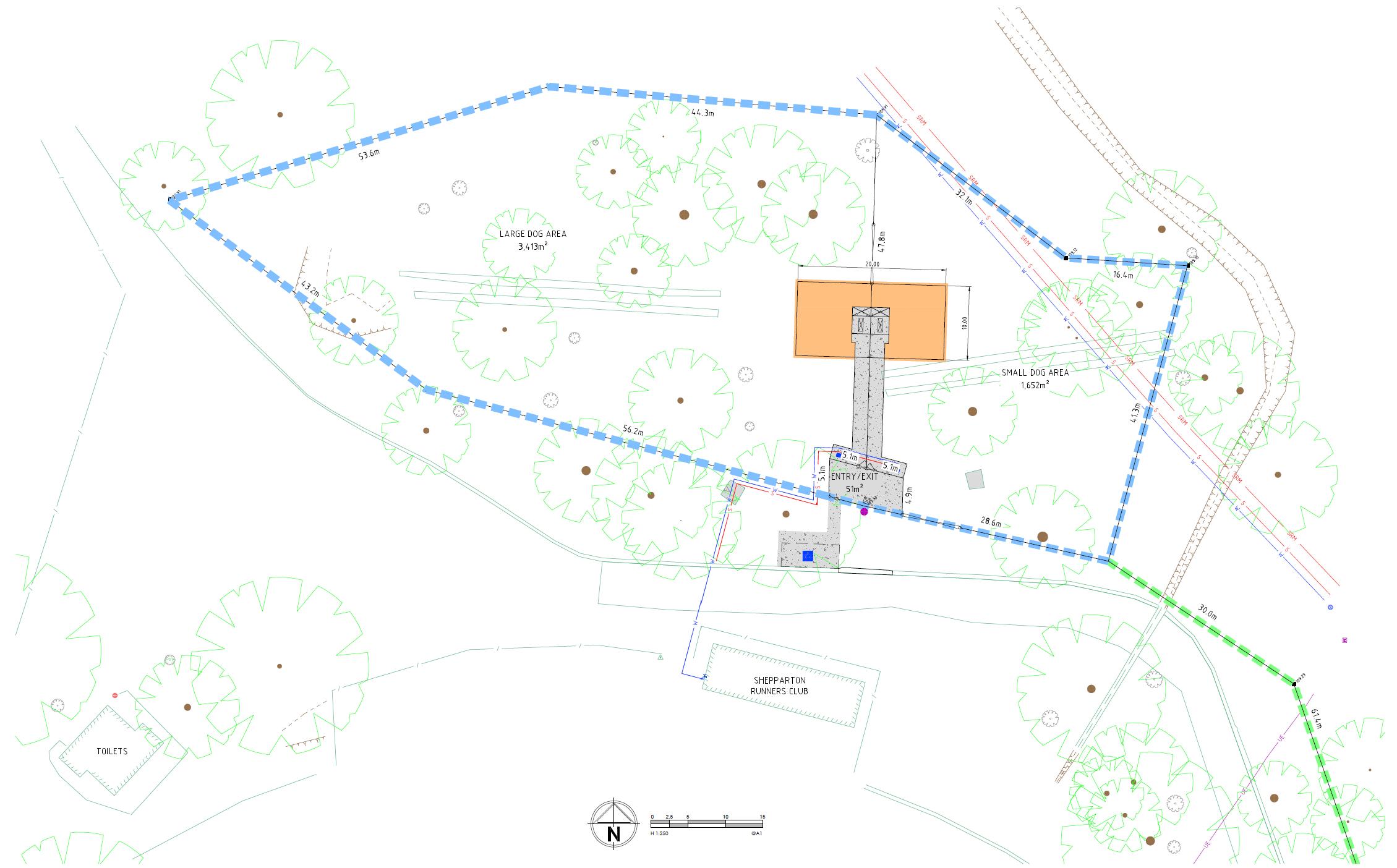 Princess Park Dog Park Concept Design