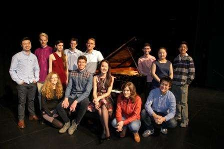 Finalists from the 2014 Australian National Piano Award in Shepparton.