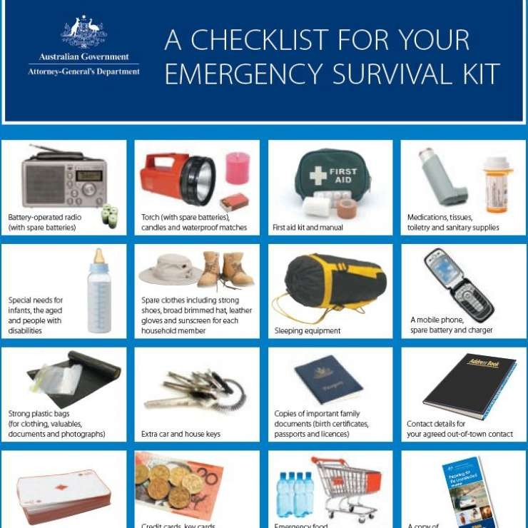 EMA Emergency Checklist