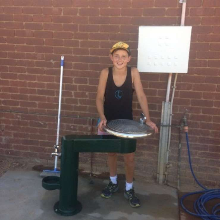 Murchison Tennis Club – Accessible Drinking Fountain Project - The addition of the accessible drinking fountain is a wonderful asset not only to the Murchison Tennis Club, but also to all who utilise the walking track along River Road.  There are many people who regularly use this track and can now rehydrate and fill their drinking bottles, or give their animals a drink while 'out and about'.   Local tradesmen have donated materials and labour to assist in the completion of this project.