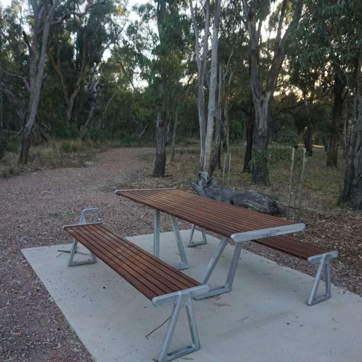 River Walk picnic table
