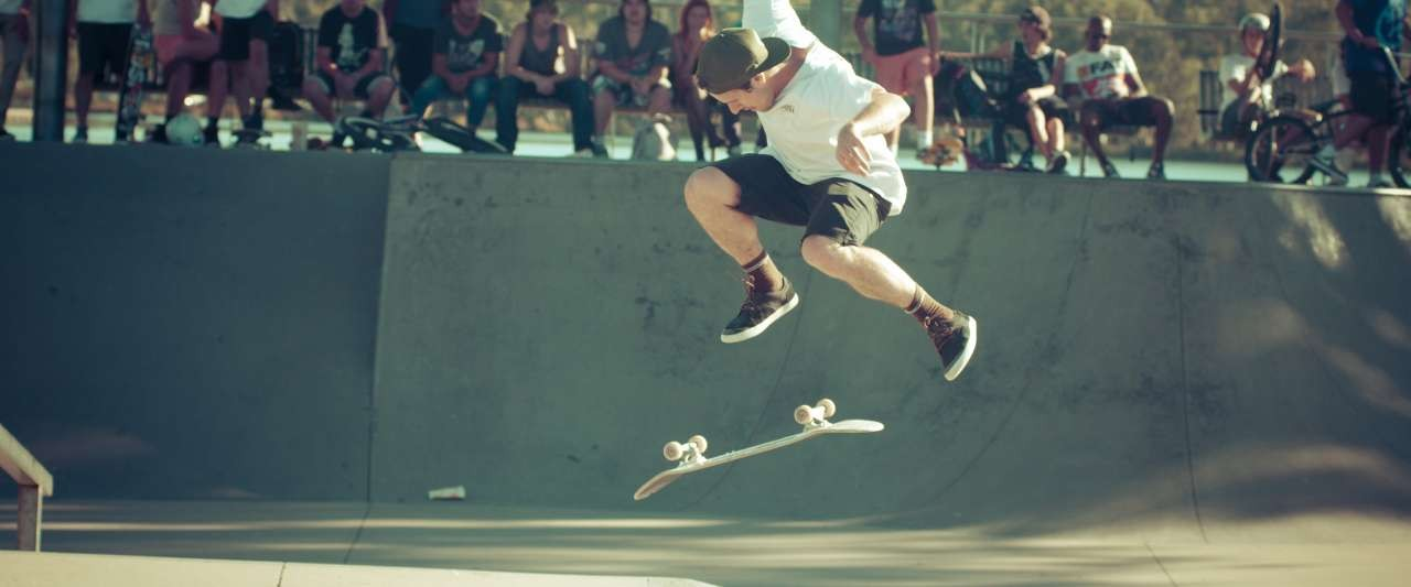 Shepparton Skate Park - Photo by Jim Gow