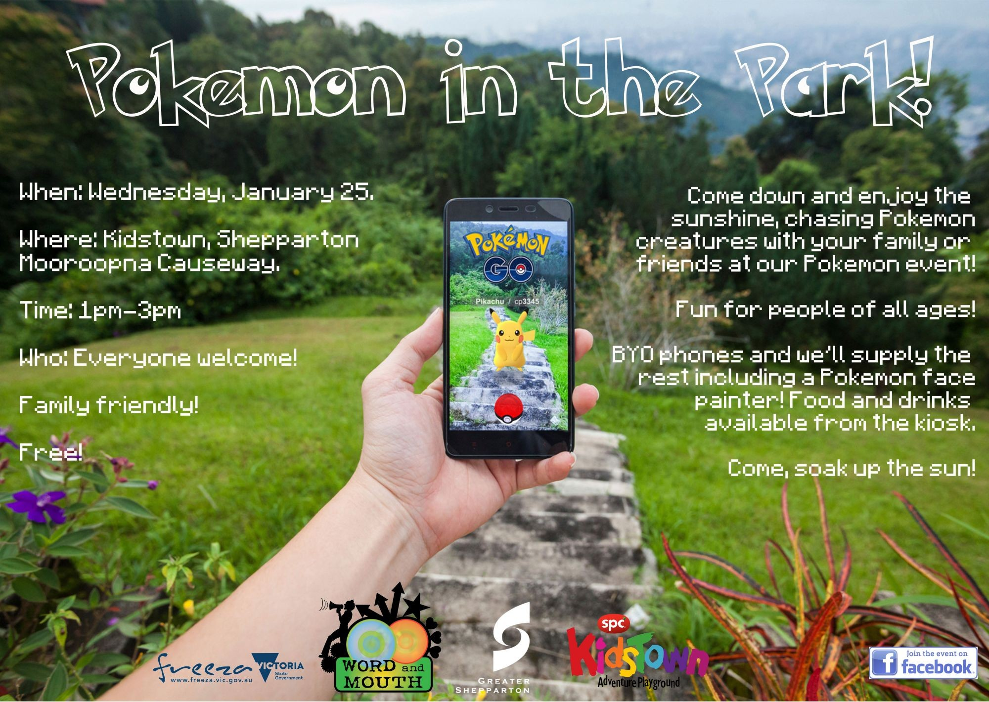 Word and Mouth Pokemon Go event rescheduled - Greater