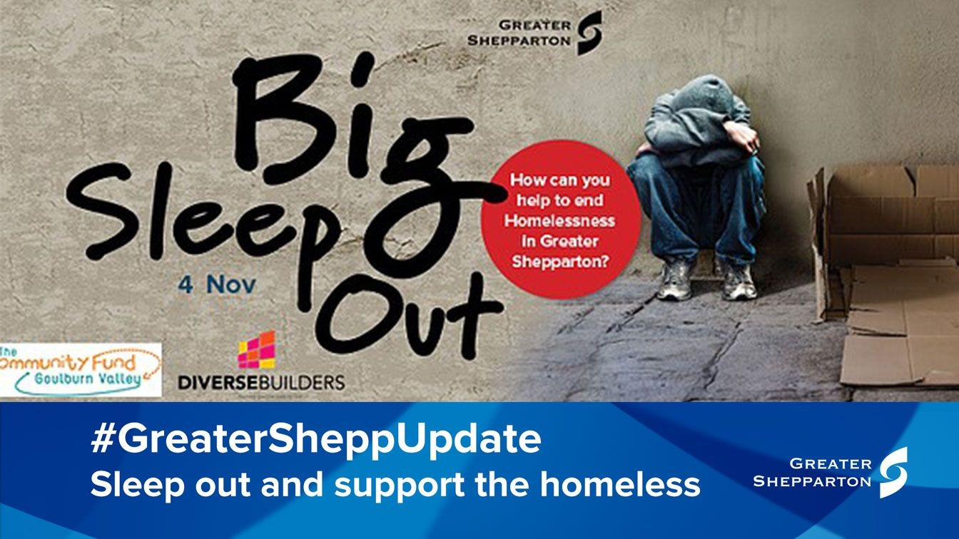 Kinder Garden: Sleep Out To Tackle Homelessness In Greater Shepparton