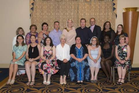 Congratulations to our 2016 Greater Shepparton City Council Community Leadership Program graduates. L to R – front row: Hilary Grigg, Megan Whittaker, Rachel Bradshaw, Julie Jackson, Jane Tremellen, Kerry Phillips, Awuor Mading Deng, Lorraine Olsson. L to R – Back Row: Nora McCarthy, Benita Connelly, Diane Baglin, David Collier, Eliza Phillips, Dylan McIntosh, Michael Curtis, Kym Greaves, Acacia Burns.