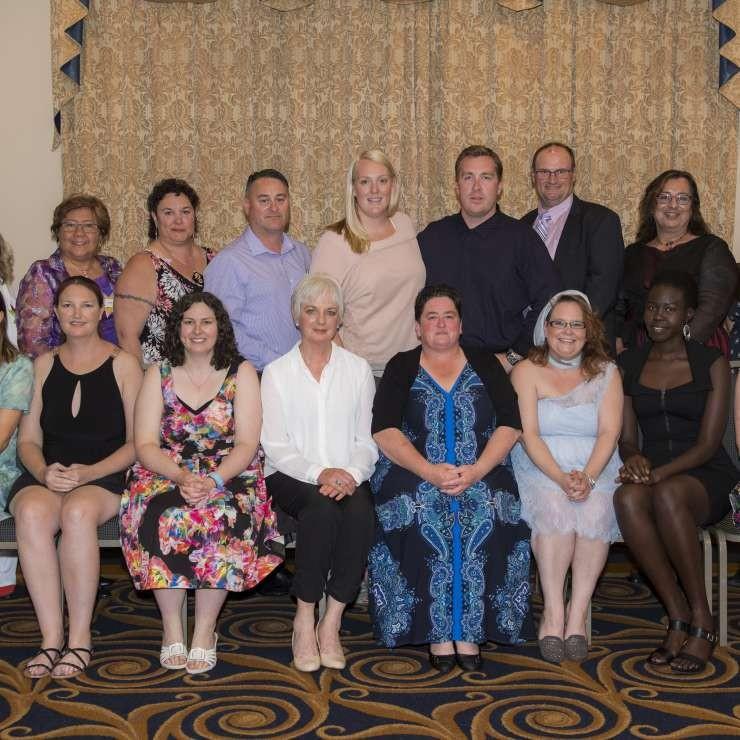 Our 2016 Community Leadership graduates.