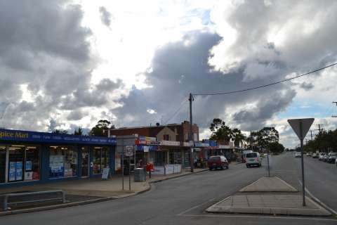 St Georges Road Shopping precinct.