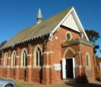 Cooma Uniting Church and former Independent Order of Rechabites' Hall