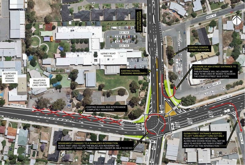 Balaclava and Verney Road Intersection Upgrade - Concept Plan