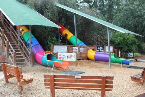 Giant Slides at SPC KidsTown