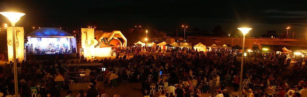 A SheppARTon Festival event held at the Shepparton Showgrounds.